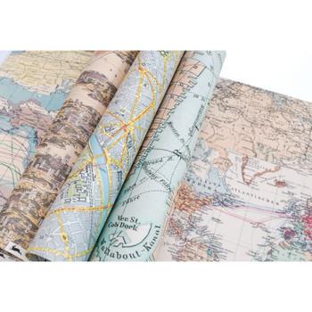 Creative Paper Book, Maps