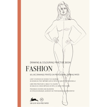 Drawing & Coloring Practice Book, Fashion