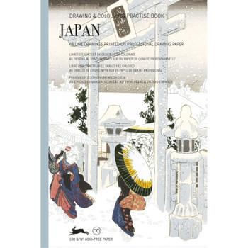 Drawing & Coloring Practice Book, Japan