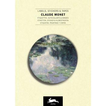 Label & Sticker Book, Claude Monet