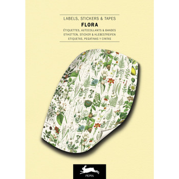 Label & Sticker Book, Flora