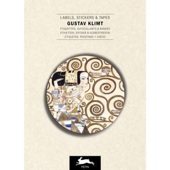 Label & Sticker Book, Gustav Klimt