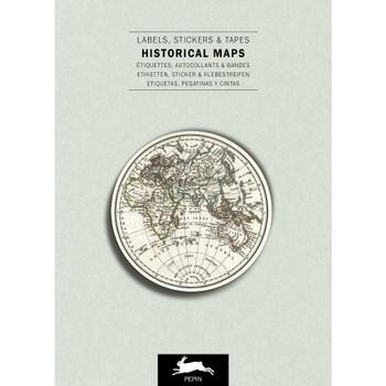 Label & Sticker Book, Historical Maps