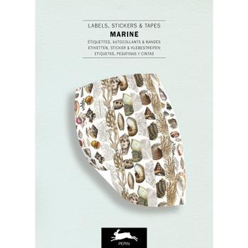 Label & Sticker Book, Marine
