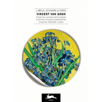 Label & Sticker Book, van Gogh