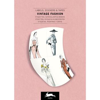 Label & Sticker Book, Vintage Fashion