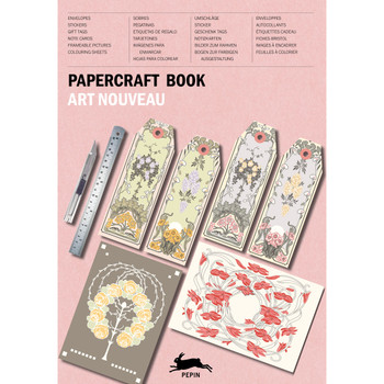 Paper Craft Book, Art Nouveau