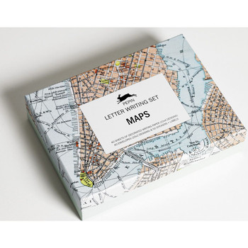 Letter Writing Set, Maps