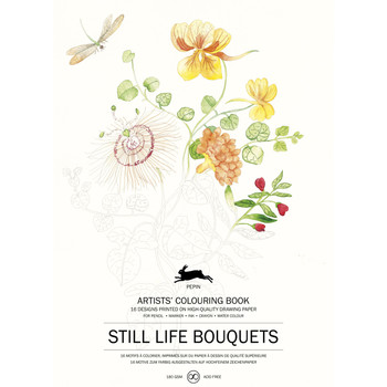 Artists' Coloring Book, Bouquets