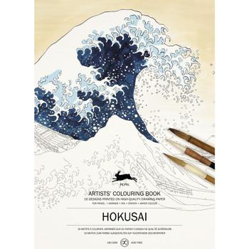 Artists' Coloring Book, Hokusai