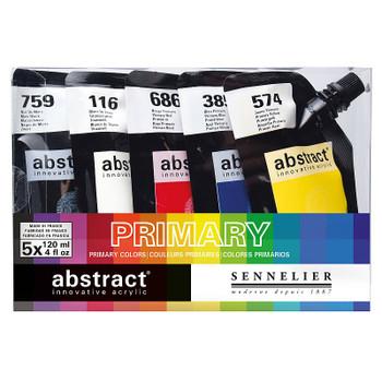 Abstract Acrylic Paint Set