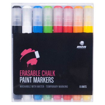 MTN Erasable Chalk Paint Marker Set