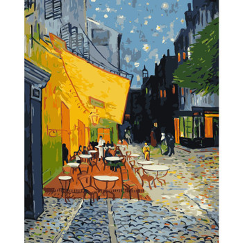 Paint By Numbers, Café Terrace at Night
