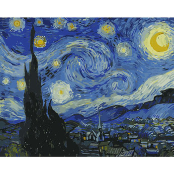 Paint by Numbers, Starry Night