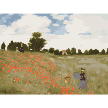 Paint by Numbers, The Poppy Field