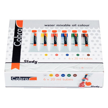 Cobra Study Solvent-Free Oil Color Introductory Set