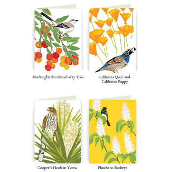 Bay Area Birds & Flowers Vol. 2, Boxed Cards