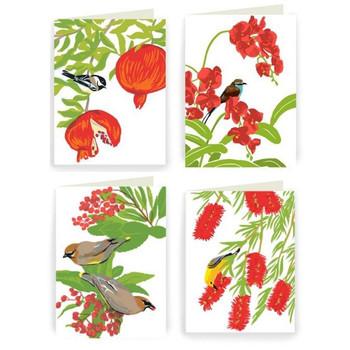 Holiday Birds, Boxed Card Set