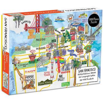 San Francisco Puzzle, 1000 Pieces