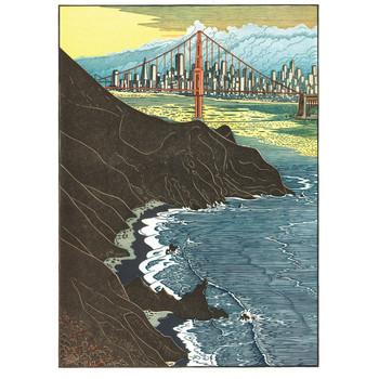 San Francisco Bay Notecard Set
