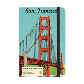 "San Francisco Notebook, 4"" x 6"""