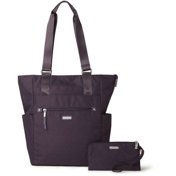 Baggallini Make Way Tote, Blackberry