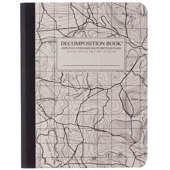 Decomposition Book Topographical  Map