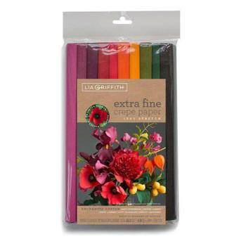 Werola Crepe Paper Set, Enchanted Garden