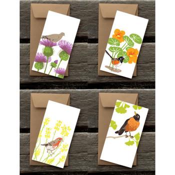 Garden of Birds, Flat Cards Set