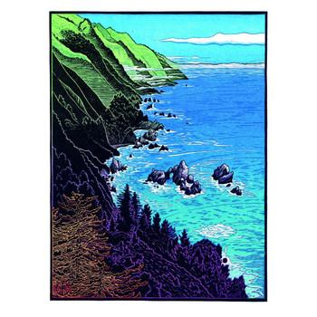 California's Wild Coast - McWay Rocks, Big Sur