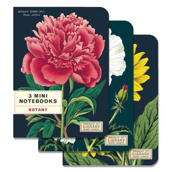 Mini Notebooks Set, Botany