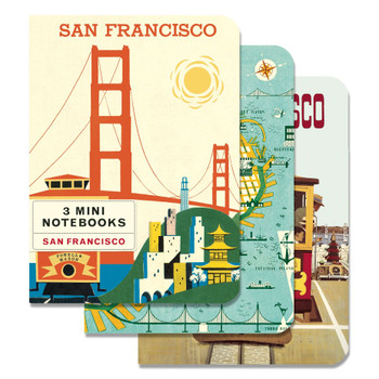 Mini Notebooks Set, San Francisco