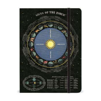 "Zodiac Notebook, 6"" x 8"""