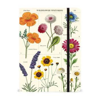 "Wildflowers Notebook, 6"" x 8"""