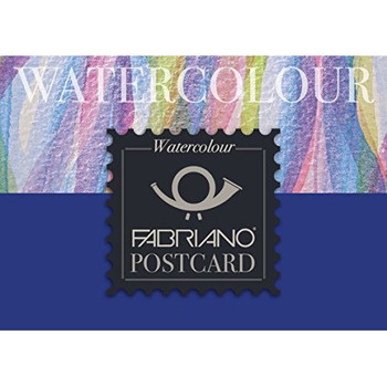 Fabriano Watercolor Postcard Pad