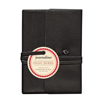 Journalino Leather Journal, Black