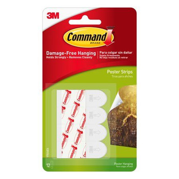 Command Posters Strips, 12 pack