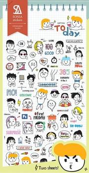 Cartoon Today Stickers