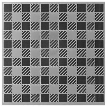 """Plaid Pattern Stencil, 6"""" x  6"""""""