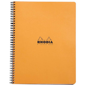 Rhodia 4 Color Notebook