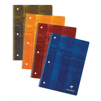 Clairefontaine Ruled 3-Hole Notebook