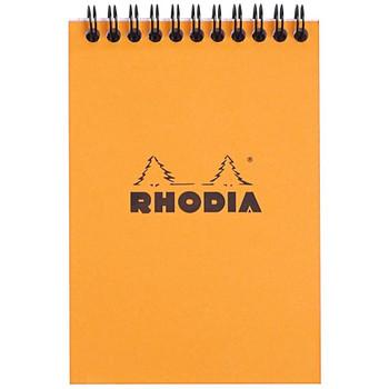 Rhodia Wirebound Pad, Orange