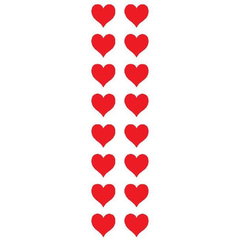 Small Red Heart Stickers