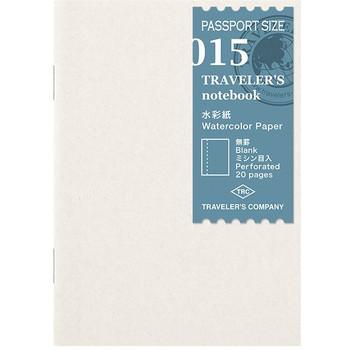 Traveler's Notebook, Passport Watercolor Refill