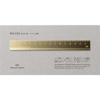 Traveler's Brass Ruler