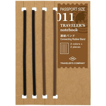 Traveler's Passport Connecting Rubber Bands