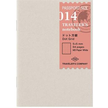 Traveler's Notebook, Passport Dotted Paper Refill