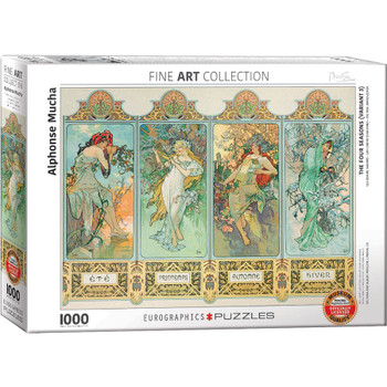 Four Seasons Jigsaw Puzzle, 1000 Pieces