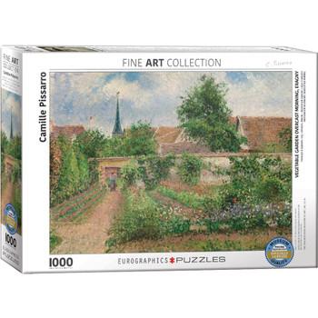 Vegetable Garden Eragny Jigsaw Puzzle, 1000 Pieces