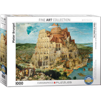 Tower of Babel Jigsaw Puzzle, 1000 Pieces
